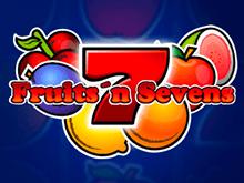 Бесплатный онлайн-слот Fruits And Sevens от Novomatic