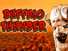 Онлайн игровой слот Buffalo Thunder в казино Вулкан